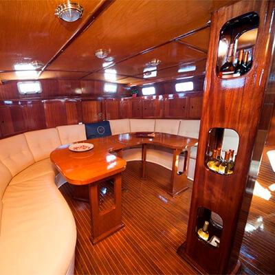 2 Mast Classic Sailboat