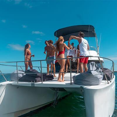 Catamaran Motor